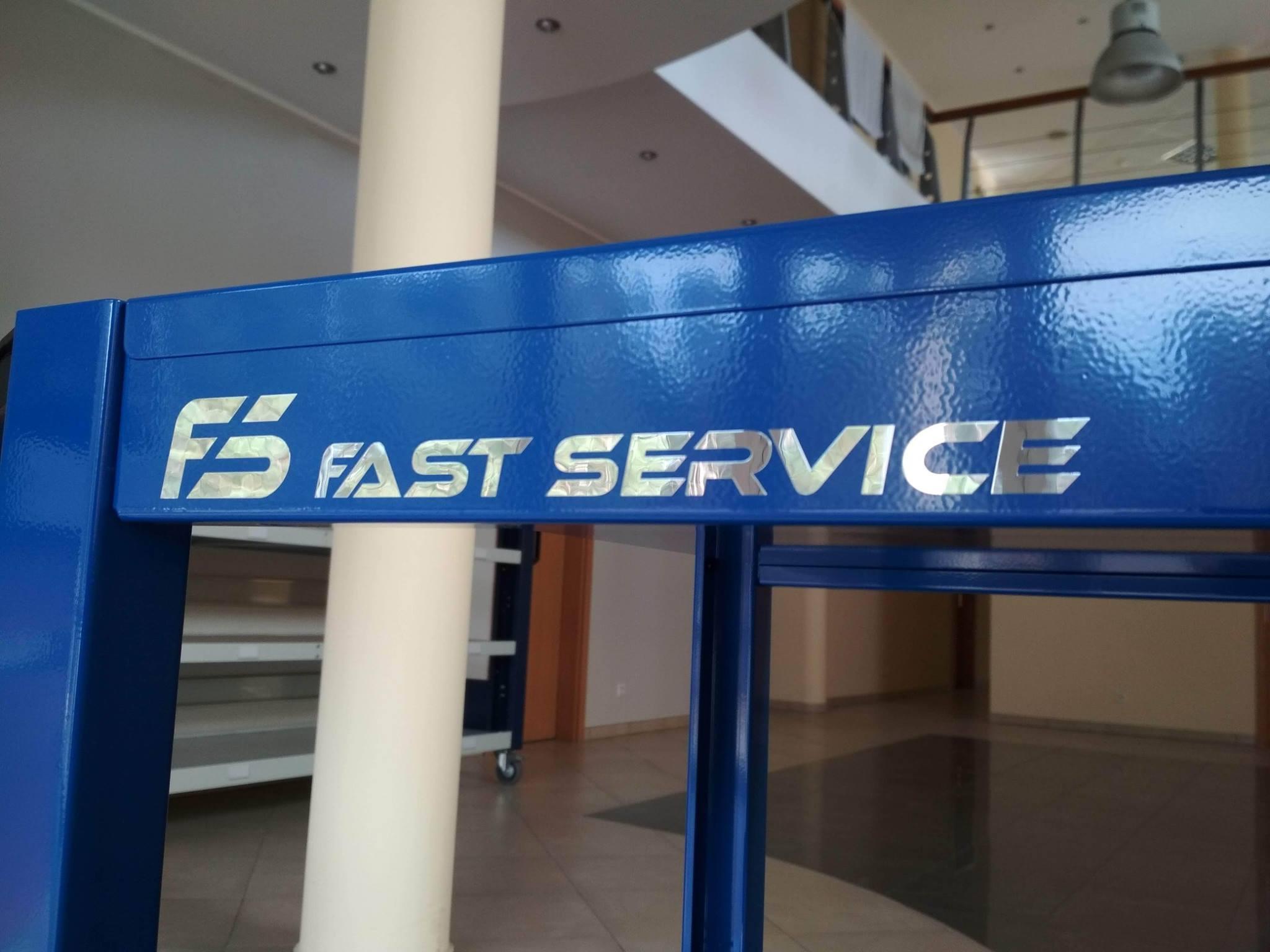 Nowy wózek warsztatowy FAST SERVICE
