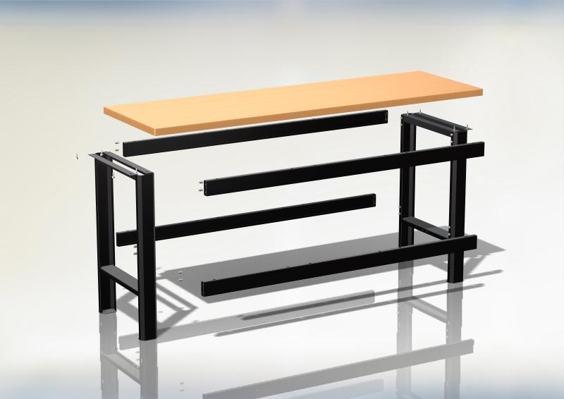 rozlozony stol warsztatowy n-3-00-01