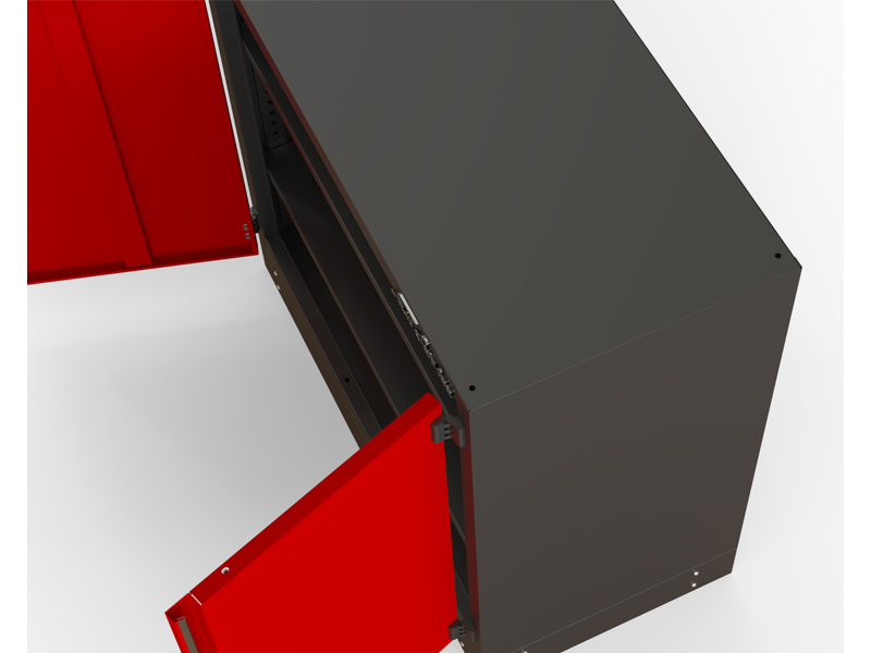 Modułowa szafa warsztatowa - M-3-01-02