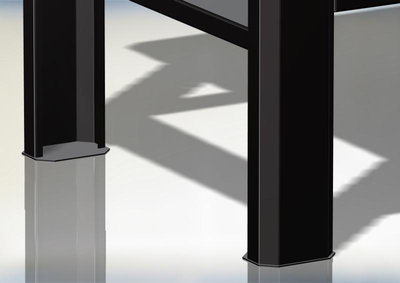 nogi stolu warztatowego n-3-00-01