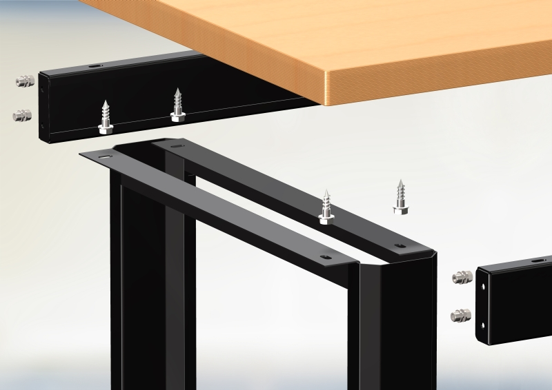 montaz srub stolu warsztatowego n-3-00-01