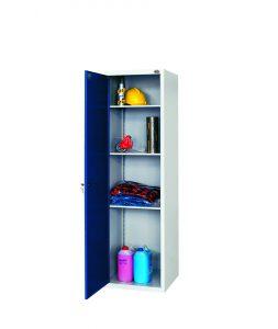 Szafa przemysłowa 1 drzwiowa (3 półki) - S-1-02-00