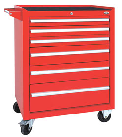 Wózek/szafka narzędziowa z 6 szufladami - P-1-03-02
