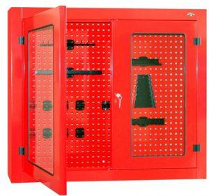 Gablota narzędziowa zamykana drzwiczkami z pleksi - P-4-06-04