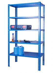 Regał magazynowy 2000x1150x600 - 5 półkowy ciężki - R-1-06-05