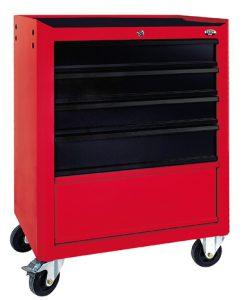 Szafka narzędziowa z 5 szufladami (prowadnice ślizgowe) - N-1-02-02