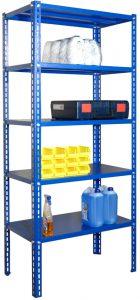 Regał magazynowy 2500x1150x500 - 5 półkowy ciężki - R-1-06-04