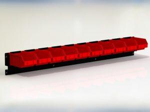 Zawieszka przystosowana do zawieszenia 10 pojemników P2 - ZWN-06