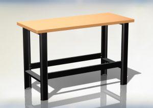 Stół warsztatowy podstawowy (szer. blatu 1400mm) - N-3-01-01
