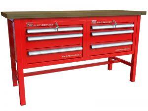 Stół warsztatowy (szer. blatu 1570mm) - P-3-03-01
