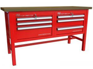 Stół warsztatowy (szer. blatu 1570mm) - P-3-031-01