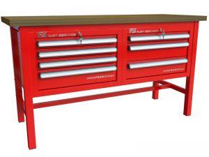 Stół warsztatowy (szer. blatu 1570mm) - P-3-032-01