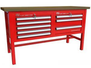 Stół warsztatowy (szer. blatu 1570mm) - P-3-034-01