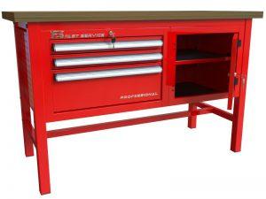 Stół warsztatowy (szer. blatu 1400mm) - P-3-041-01