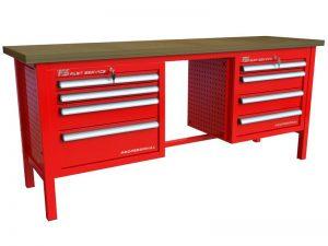 Stół warsztatowy (szer. blatu 2070mm) - P-3-136-01