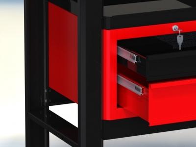 Stół warsztatowy (szer. blatu 1960mm) - N-3-21-01