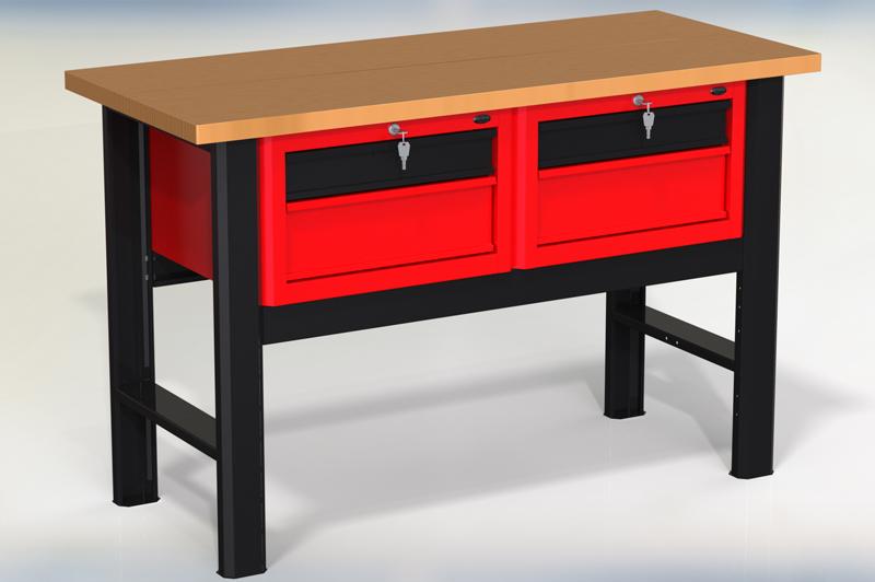 Stół warsztatowy (szer. blatu 1400mm) - N-3-03-01