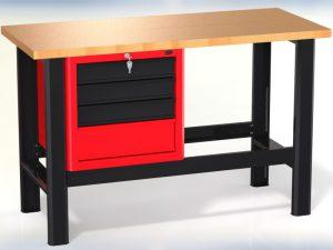 Stół warsztatowy (szer. blatu 1400mm) - N-3-04-01