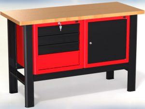 Stół warsztatowy (szer. blatu 1400mm) - N-3-06-01