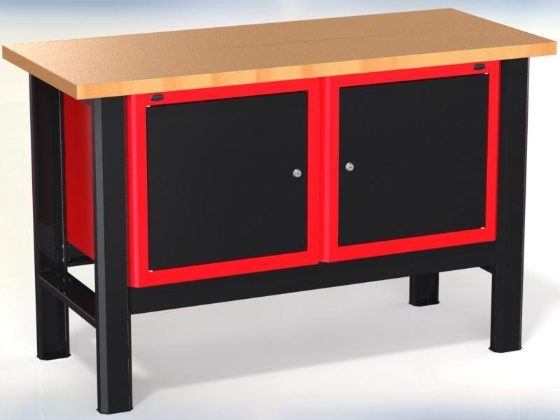 Stół warsztatowy (szer. blatu 1400mm) - N-3-08-01