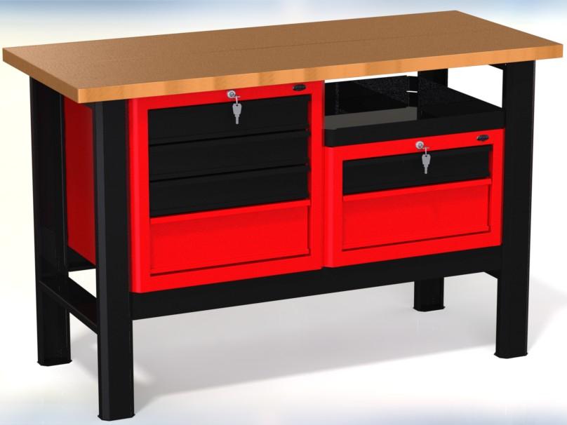 Stół warsztatowy (szer. blatu 1400mm) - N-3-11-01