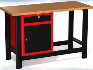 Stół warsztatowy (szer. blatu 1400mm) - N-3-13-01