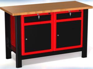 Stół warsztatowy (szer. blatu 1400mm) - N-3-14-01