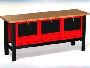 Stół warsztatowy (szer. blatu 1960mm) - N-3-15-01