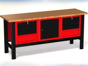 Stół warsztatowy (szer. blatu 1960mm) - N-3-16-01