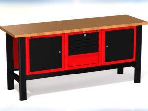 Stół warsztatowy (szer. blatu 1960mm) - N-3-17-01