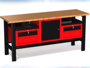 Stół warsztatowy (szer. blatu 1960mm) - N-3-23-01