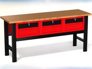 Stół warsztatowy (szer. blatu 1960mm) - N-3-24-01