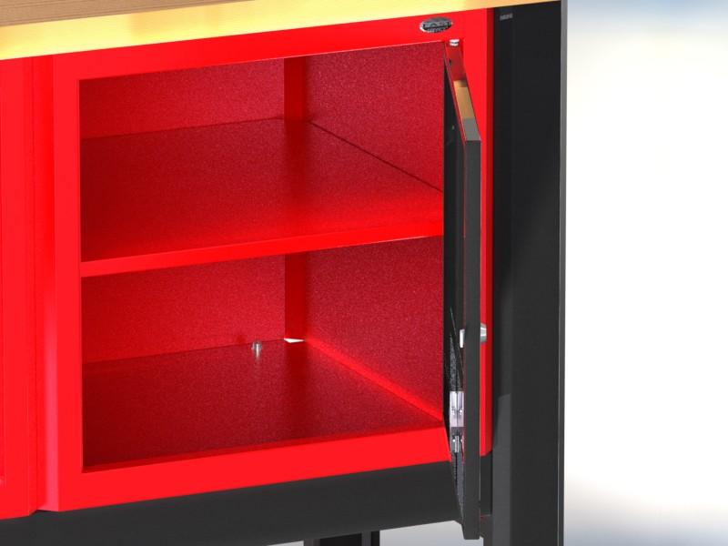 Stół warsztatowy (szer. blatu 1960mm) - N-3-22-01