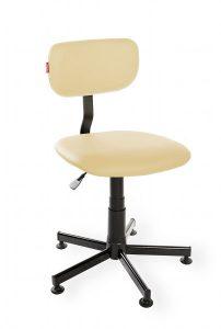 Krzesło warsztatowe Black Eco RKW-26