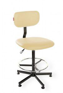 Krzesło warsztatowe Black Eco H+RING RKW-27