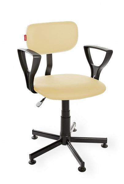 Krzesło warsztatowe Black Eco PD RKW-28