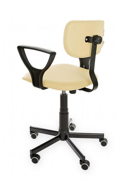 Krzesło warsztatowe Black Eco PD+ WH RKW-29