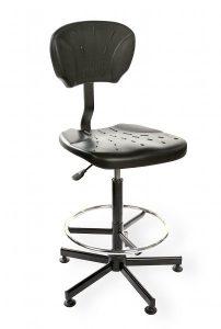 Krzesło warsztatowe Pur Active H+RING RKW-21