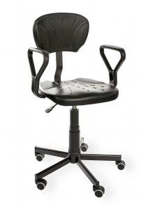 Krzesło warsztatowe Pur Active PD+WH RKW-23