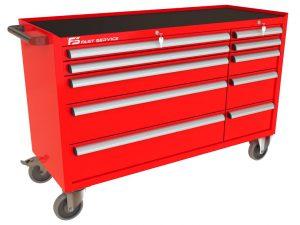 Wózek warsztatowy MEGA z 10 szufladami PM-222-22