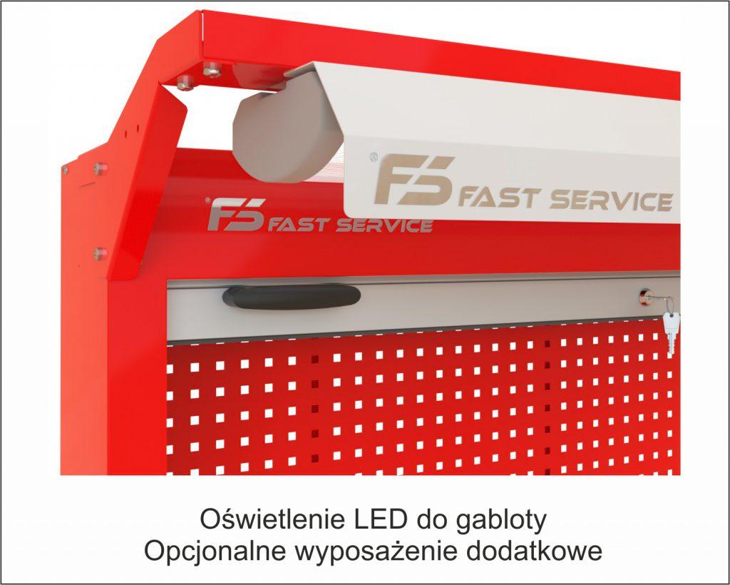 oświetlenie LED do gabloty