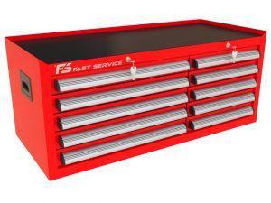 Nadstawka wózka TRUCK z 10 szufladami PNT-150-50
