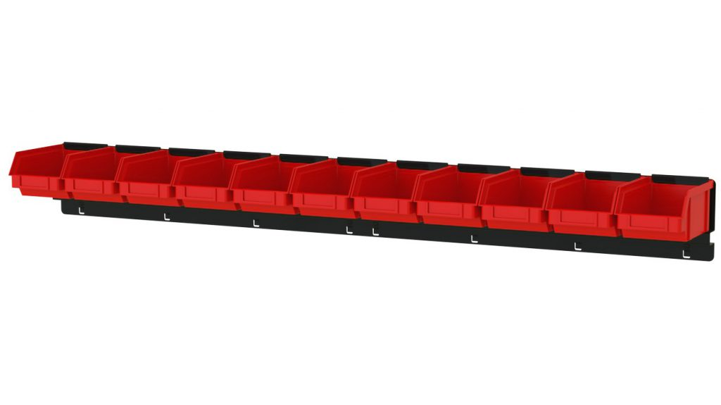 Listwa na 11 pojemników P1 ZW-P1-11