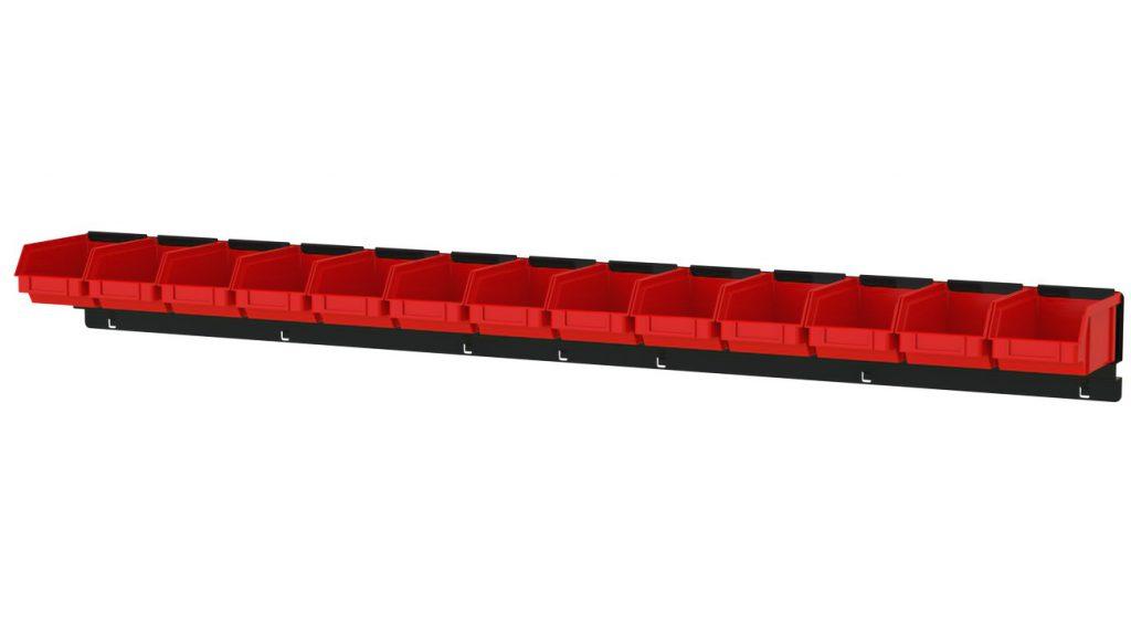 Listwa na 13 pojemników P1 ZW-P1-13